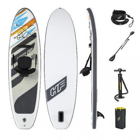 Hydro Force SUP Board White Cap Convertible Set - Maximal 120 kg